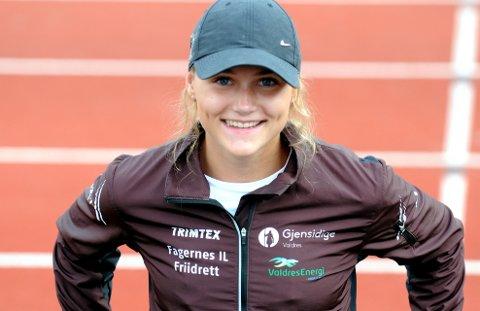 Femkamp: Kristine Berger Akervold satte en fin personlig rekord i femkamp innendørs i USA nylig.