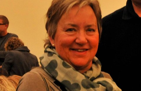 LETTET:Rektor Kari Brotnov på Hagen skole.