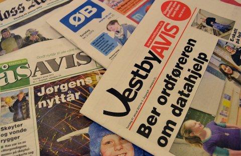 Dobbelt så mange har tillit til lokalavisen sin enn til VG, Dagbladet og Nettavisen, ifølge Tillitsundersøkelsen 2016.