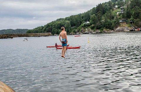 Badevannet i Ås, bl.a. på Breivoll, holder god kvalitet.