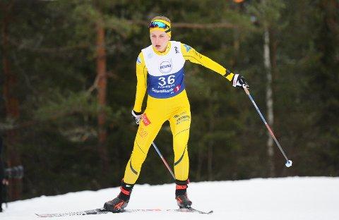 FORTSETTER: Ingvild Wollebek fortsetter skisatsingen og er spent på hva hennes andre sesong på seniornivå kommer til å bringe.