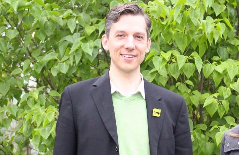 Kristoffer Robin Haug (MDG), fylkesråd for kollektivtransport i Viken.