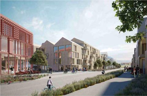 STORE PLANER FOR ÅS: Planer for flere tusen nye boliger i Ås kommune er under planlegging. På Moerjordet jobber Ås Utviklingselskap ANS med planer for næringslokaler og over 400 nye boliger.
