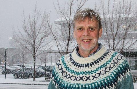 Tror på trapp: Per Steinar Husby er leder i vennegruppa for Vinnutrappa.