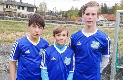 GJERSTADS MÅLSCORERE: Deni Vangajev (2), Jonathan Libekk Haugen og Trygve Berger Ausland.