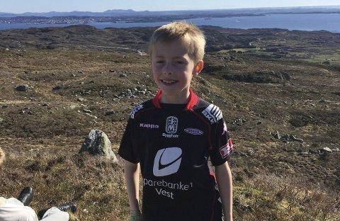 Spreking: Ådne Wilberg (8) besteg alle fjelltoppene.