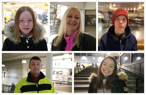 Andrea Kvalø (15) sitt nyttårsforsett er å vere meir sosial, mens Mette Marei Træland (59) sitt nyttårsforsett er å bruke meir tid til kunst.