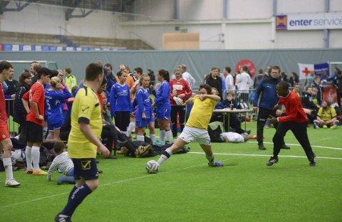 Vellykket: Fotball er fotball og idrett er idrett, det samme over hele verden, og er derfor et meget godt redskap for integrering. Illustrasjonsfoto.