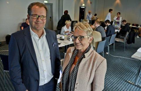 Avgått rektor Bjørn Olsen og styreleder Vigdis Moe Skarstein ved Nord Universitet har ledet institusjonen gjennom en tung periode.