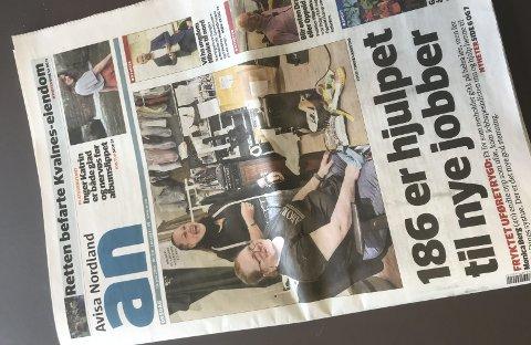 Reagerer: Bodø kommune reagerer negativt på ANs journalistikk i forbindelse med anbudet rundt en brøyterode i Skjerstad. Illustrasjonsfoto