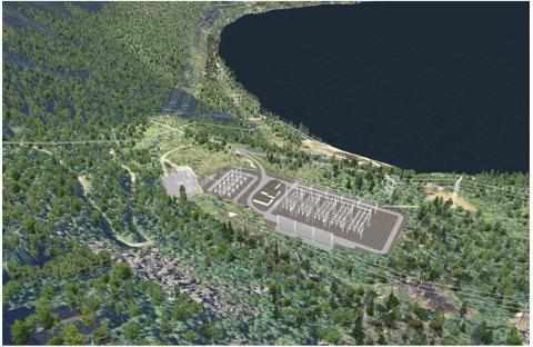 Statnett har konsesjon til ny transformatorstasjon i Sørfold kommune i Nordland for å sikre strømtilførsel mellom Nord- og Midt-Norge, samt åpne for ny produksjon i området. Foto: Statnett
