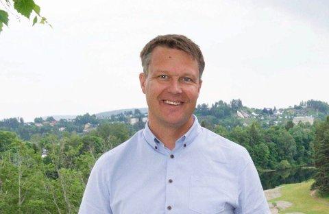 DAGLIG LEDER: Steffen Fagerås begynte som daglig leder i Norefjell Prosjektutvikling AS 2. mai.