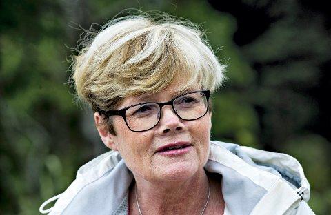 VELDIG FORNØYD: Stortingsrepresentant Kristin Ørmen Johnsen.