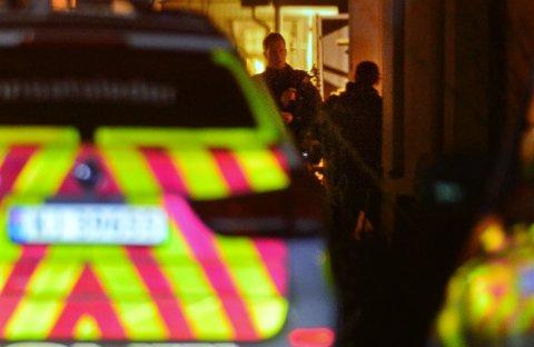 Politiet måtte rykke ut til en adresse i Svelvik natt til 1. januar.