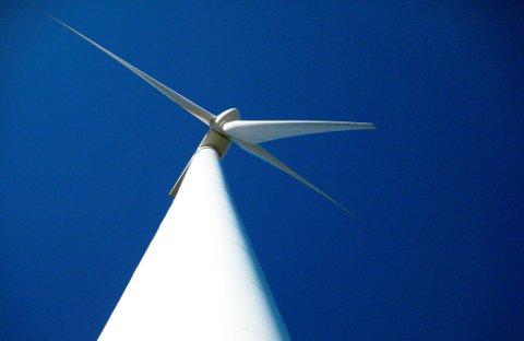SKAPAR TRØBBEL: Vindturbinane på Hennøy skapar trøbbel, men Falck Renewables er no i ferd med å rydde opp.