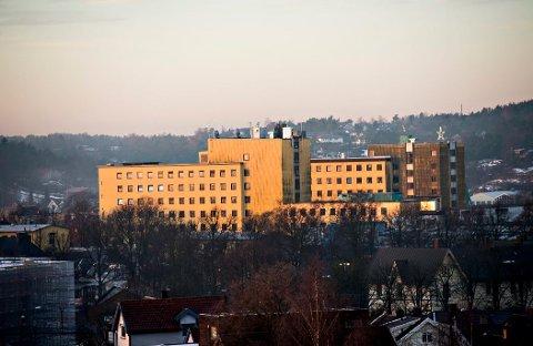 Uvisst: Hva som skjer med de gamle sykehusbygningene, er ennå i det blå.