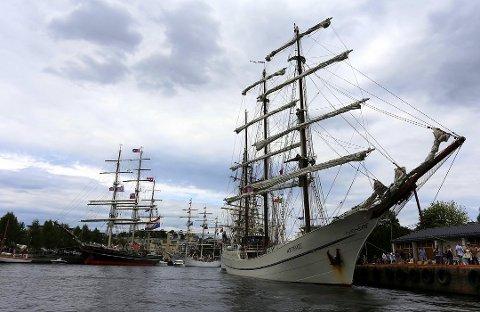 Millionfest: Tall Ships Races kommer til Fredrikstad for tredje gang i 2019. De to andre gangene har det blitt en folkefest, men det koster kommunen millioner av kroner.