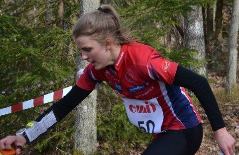 FSK'ER: Marie Olaussen er en av dem som skal kjempe om gjeve plasseringer i World Cup i Østfold om en måned.
