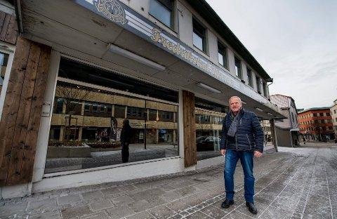 BINGOLOKALER: Bingoland har allerede åpnet i de gamle lokalene til Fredrikstad Blomster i Hagbartgården.