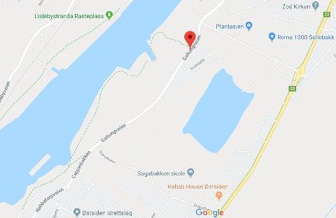 Det var på Galtungveien, veien mellom Selbak og Nabbetorp politiet hadde fartskontroll onsdag.