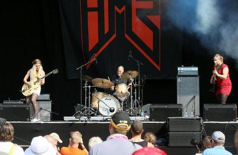 Hedvig Mollestad Trio spilte på Månefestivalen i 2016. Fredag 24. april spiller de på Gamlebyen Kulturhus, med for tom sal. Konserten kan du se på Fredriksstad Blads nettsider.