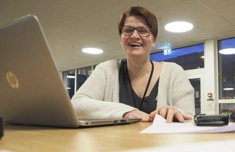 Forventningsfull: Enhetsleder Marianne Dobak Kvensjø ved Areal og samfunnsutvikling i Narvik kommune har forventninger til Smart City-prosjektet. Foto: Terje Næsje