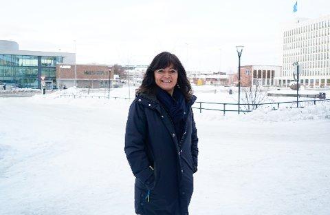 STOLT: Ingrid Søraas, regionleder for Sweco Narvik, er veldig glad for at de har hatt en stor vekst på antall ansatte.