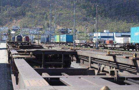 MER FISK, DIREKTE TIL MARKEDET: I snart ett år har det gått ett tog i ukenmed fisk direkte fra Narvik direkte til det europeiske markedet. Fra nyttår er det meningen å øke til to avganger - helt ned til Padborg og den dansk-tyske grensen.