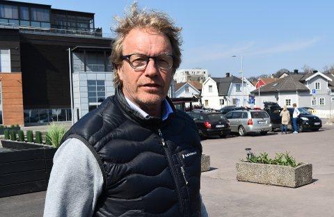 GLAD: Havnesjef Espen Eliassen er tydelig på at det framforhandlede avtalen vil gi en nettogevinst for Horten. 200 millioner til grøntområder og infrastruktur vil synes.
