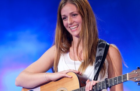 Ålgårdsjenta Siri Vølstad Jensen fikk mange lovord for sin opptreden på Idol-audition.