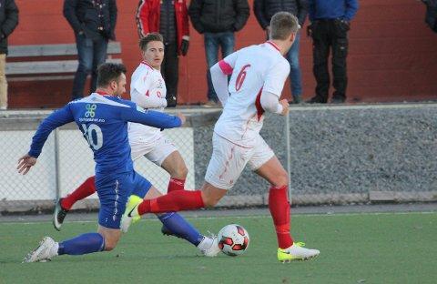 Ingen kroner i kassa: Armin Sistek og resten av FUVO-spillerne røk ut av cupen, før det rakk å begynne.