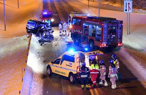Sigvart Dagsland ble alvorlig skadd i en trafikkulykke i Stange tirsdag kveld. Foto: Fredrik Olastuen / Hamar Arbeiderblad / NTB scanpix