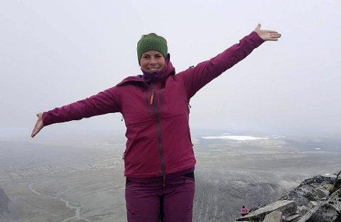 NY LEIAR: Therese Hvattum Heramb er ny dagleg leiar i DNT Gudbrandsdalen. Ho har kontorplass i Ringebu.  Foto: Privat