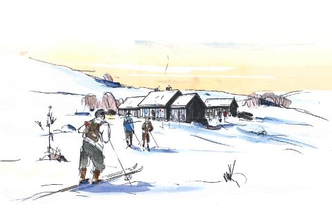 TURGLEDE: - Hytta vil gi store muligheter for økt turglede og aktivitet i de unike fjellområdene i Skåbu og Jotunheimen, sier ordfører for Nord-Fron, Rune Støstad.
