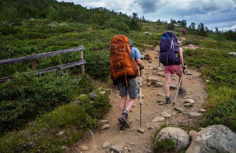 FÅR STØTTE: Besseggen er en av seksten turiststier som får tilskudd fra Miljødirektoratet.