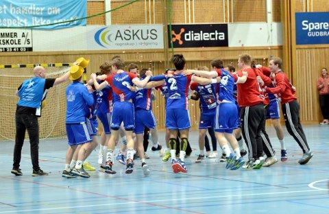 LFH09 rykket opp til 1. divisjon etter uavgjort i Jorekstadhallen mot Bergsøy.