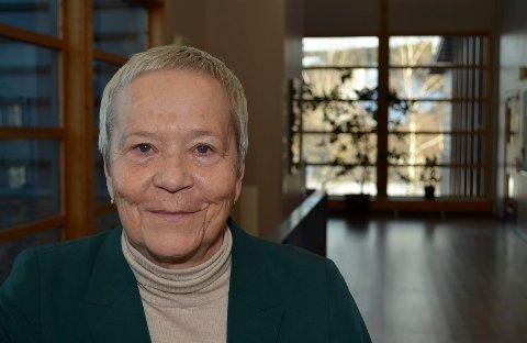 BLIR PENSJONIST: Høgskolerektor Kathrine Skretting blir pensjonist i mai neste år.