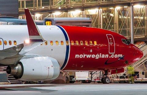 ALVORLIG: Norwegian opplyser til RB at de tok situasjonen før landing på Gardermoen på høyeste alvor. FOTO: HANS OLAV NYBORG