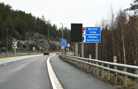 DEN GANG DA: Østfold var et fylke.