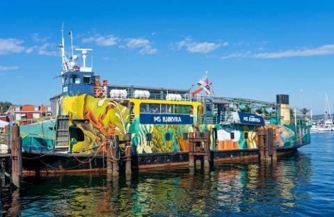VAR DU HER?: Alle som var på konsert med Vidar Villa på denne båten på Skjærhalden lørdag, bes om å teste seg. En av gjestene har i ettertid fått bekreftet smitte med deltavarianten.