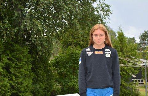 OPTIMISTISK: Henriette Jæger ser lyst på fremtiden, og stresser ikke over at hun ble skadet i det hun kunne kvalifisert seg til sitt første OL.