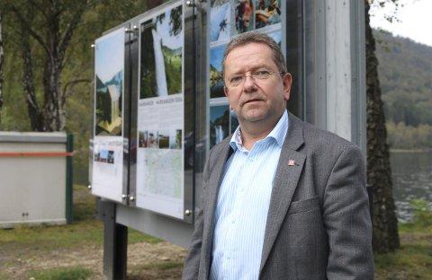 Jostein Eitrheim er dagleg leiar i interesseselskapet for riksveg 13, Fjordvegen Rute 13. Arkivfoto: Eivind Dahle Sjåstad