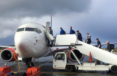 KRISE: Det er bortfall av både passasjerer og inntekter på Haugesund lufthavn.