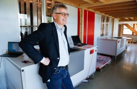 I VEKST: Administrerende direktør Karl Johan Lier i Autostore har et mål om at antallet ansatte skal dobles i løpet av de neste tre årene – fra 300 til 600.
