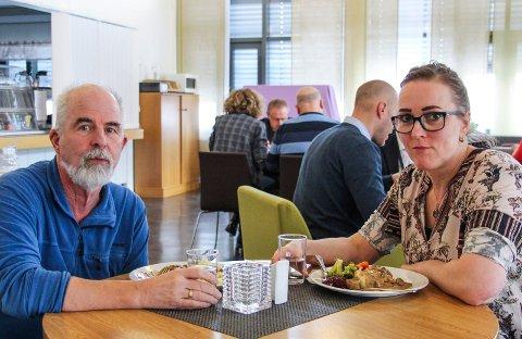 Gunnvald Lindset og Carola Karl Urvik var bestyrtet over at pasientene omtrent ikke var nevnt i Helge Torgersens gjennomgang.