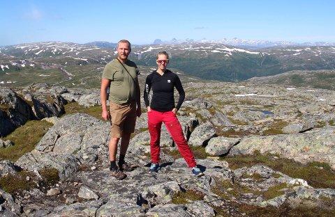 SPLEIS: Lena Mellingen, her sammen med Eivind Salen, har opprettet spleis etter rettsaken, og mer enn 850.000 kroner har kommet inn.