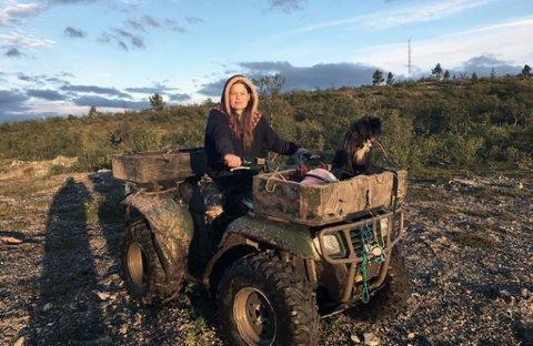 FLYTTET: Frøydis Falch Urbye tilbragte ett år i Karasjok som journalist.