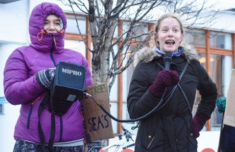 ENGASJERT: Victoria Sundt Garder mener det er viktig at politikerne prioriterer klima.