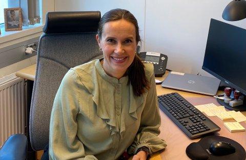 INFORMERER:. Ordfører Marianne Sivertsen Næss og Hammerfest kommune hadde nok en pressekonferanse fredag, hvor de informerte innbyggerne.
