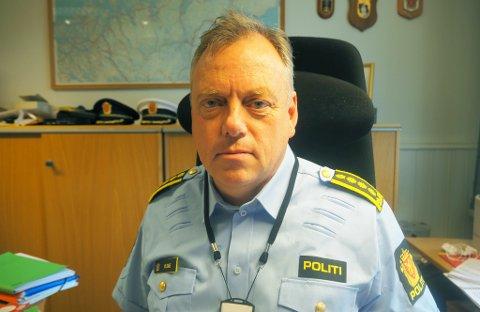 SVARER: Påtaleleder i Finnmark politidistrikt, Morten Daae svarer iFinnmark på hvor mange som har blitt anmeldt for brudd på smittevernloven.